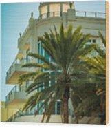 South Beach Vibes Wood Print