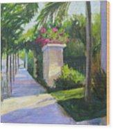 South Beach Wood Print