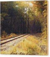 South Carolina Wood Print