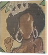 South Carolina Queen Wood Print