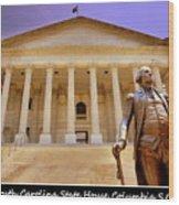 South Carolina State House Columbia Sc Wood Print