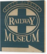South Florida Railway Museum Wood Print