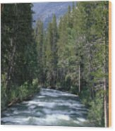 South Fork San Joaquin River - Kings Canyon National Park Wood Print