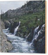 South Fork San Joaquin River Wood Print