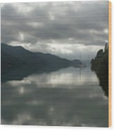 South Island Inlet Wood Print