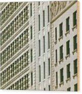 South Michigan Avenue Wood Print