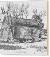 South Of Rutledge Wood Print