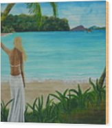 South Pacific Dreamin Wood Print