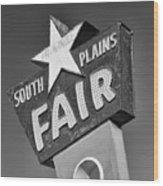 South Plains Fair Wood Print