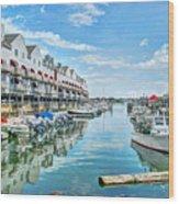 South Portland Harbor #2 Wood Print