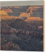 South Rim Sunrise - Grand Canyon National Park - Arizona Wood Print