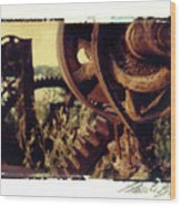 South Side Machine Detail 2 Wood Print