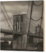 South Street Seaport Wood Print