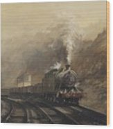 South Wales Coal Train Wood Print