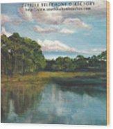 South Walton Telephone Directory Cover Art Wood Print