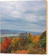 South Williamsport Foliage Wood Print