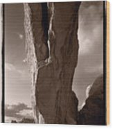 South Window Arch Arches National Park Wood Print