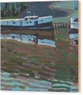 Southampton And Scubbys Bluff Fishing Fleet Wood Print