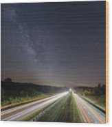 Southbound Wood Print