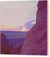 Southeastern Utah Sunset 3 Wood Print
