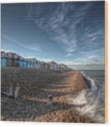 Southend On Sea Wood Print