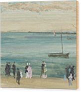 Southend Pier Wood Print