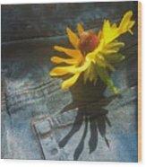 Southern Blue Jean Pocket Wood Print