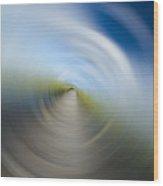 Southern Dock Motion Blur Wood Print