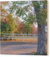 Southern Fall Wood Print