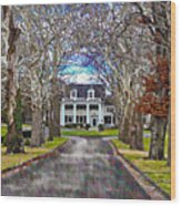 Southern Gothic Wood Print