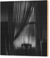 Southern Gothic The Empty Chair Wood Print
