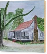 Southern Home Wood Print