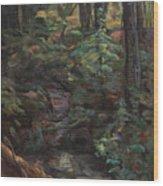 Southern Jungle Wood Print