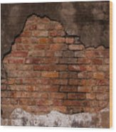 Southern Layers-signed-#5596 Wood Print
