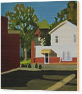 Southern Management East Hill Pensacola Wood Print