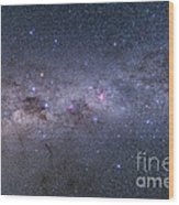 Southern Milky Way From Vela Wood Print