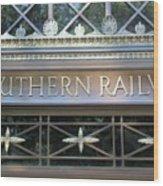 Southern Railway Building Wood Print