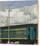 Southern Railway Wood Print