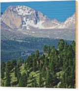 Southern Rockies Summer Mountains Wood Print