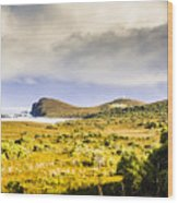 Southern Tip Of Bruny Island Wood Print