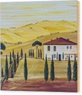 Southern Tuscany Wood Print