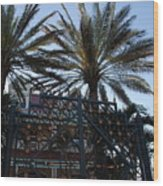 Southernmost Hotel Entrance In Key West Wood Print