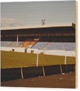Southport Fc - Haig Avenue - Main Stand 2 - 1970s Wood Print