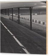 Southport Fc - Haig Avenue - Scarisbrick End 1 - Bw - Early 60s Wood Print