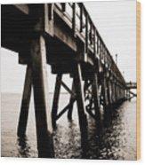 Southport Pier  Wood Print