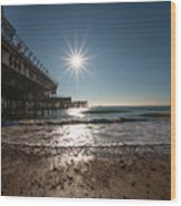 Southsea Pier Wood Print