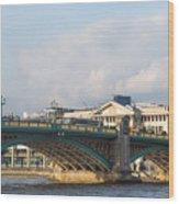 Southwark Bridge  Wood Print