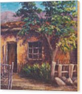 Southwest Adobe Wood Print