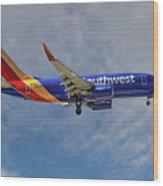 Southwest Airlines Boeing 737-76n Wood Print
