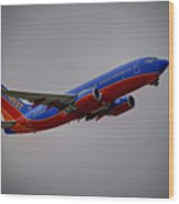 Southwest Departure Wood Print